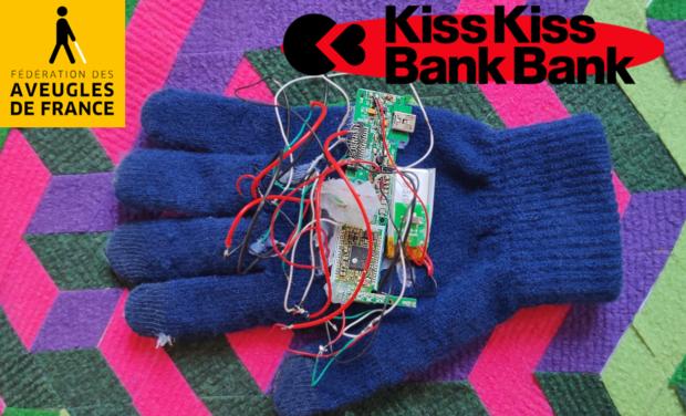 Visuel du projet Eye-Glove, Le 1er gant-clavier pour les malvoyants