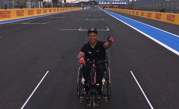 Visuel du projet Sport Automobile & Handicap - Finale Championnat de France Clio Cup
