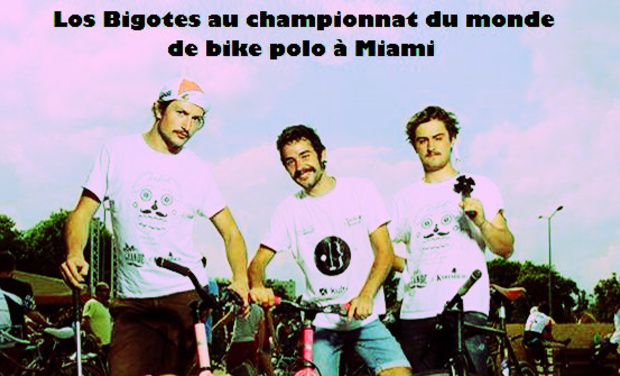 Project visual Los Bigotes au championnat du monde de bike polo à Miami