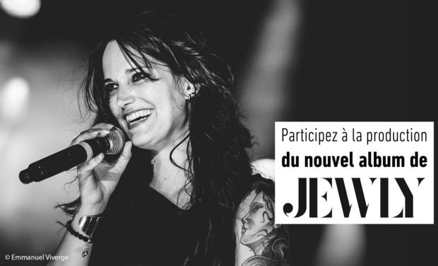 """Visuel du projet Jewly, nouvel album """"Toxic"""""""