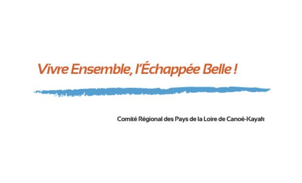 """Visueel van project Logement social & Canoë-Kayak : """"Vivre ensemble, l'échappée belle"""""""