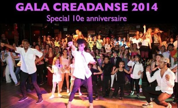 Visueel van project Gala Creadanse 2014 special 10e anniversaire