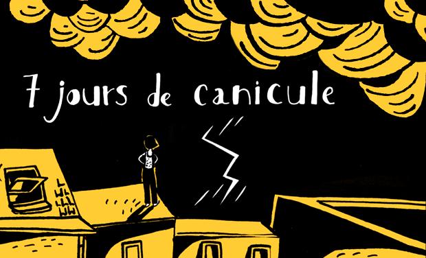 Visuel du projet 7 jours de canicule (bande dessinée)