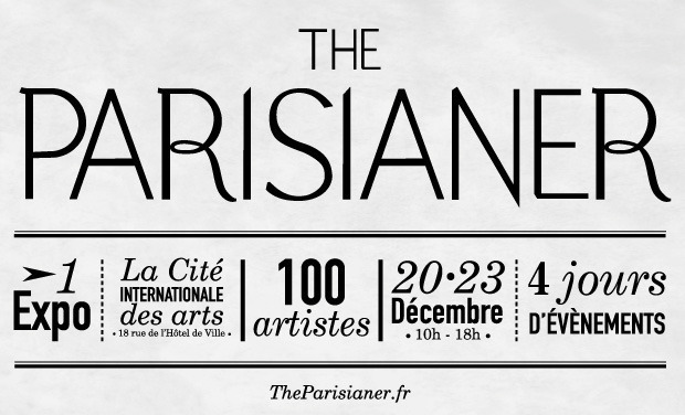 Project visual THE PARISIANER - 100 artistes / 100 illustrations de Paris !
