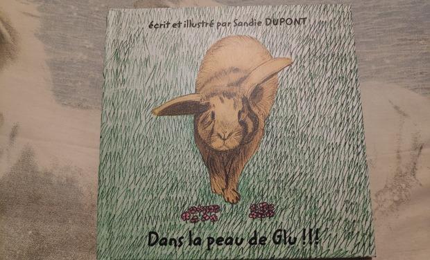 Visuel du projet Dans la peau de Glu ! - Livre pour enfants