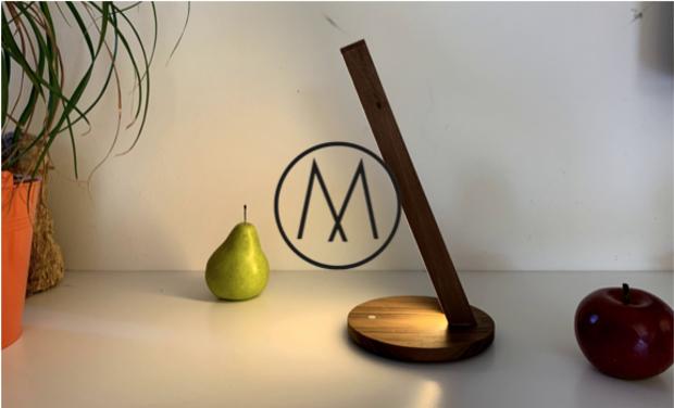 Project visual M Lux : Marque d'Objets Innovants Locaux en Bois