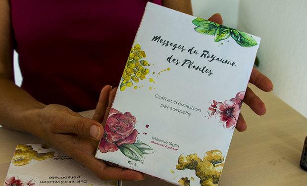 Visuel du projet Messages du Royaume des Plantes : coffret d'évolution personnelle