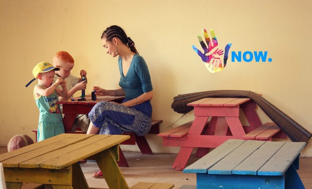 Project visual Help us build a boarding school for Senegalese children living with albinism!