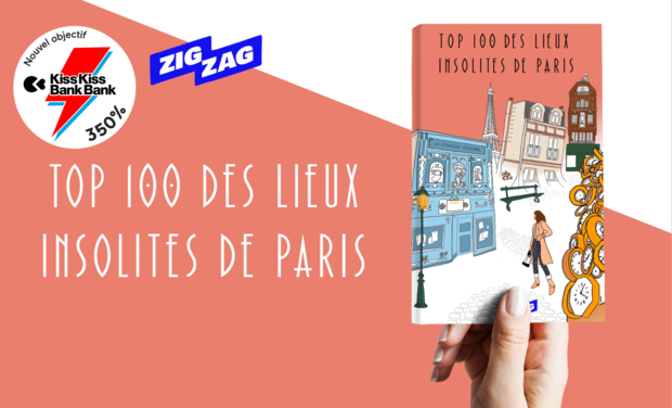 Project visual TOP 100 des Lieux Insolites de Paris