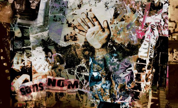 """Project visual LIVRE DISQUE """"SANS NOM"""" Yves Béal & Mikael Depalma"""