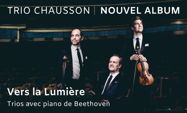 Visuel du projet Vers la Lumière: trios avec piano de Beethoven