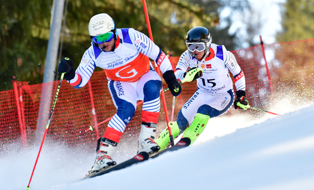 Visuel du projet Handisport ski Thomas Civade