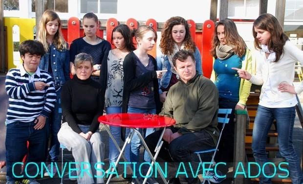 Visueel van project Conversations avec ados
