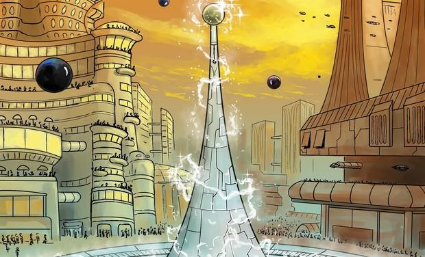 Visuel du projet Une BD d'ecolo-fiction