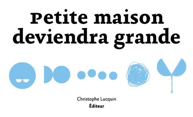 Visueel van project Petite maison deviendra grande
