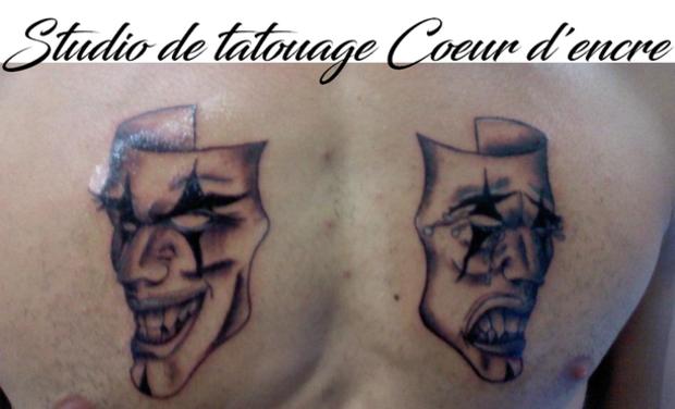 """Visuel du projet Création du salon de tatouage """"Coeur d'Encre"""" à Auterive"""