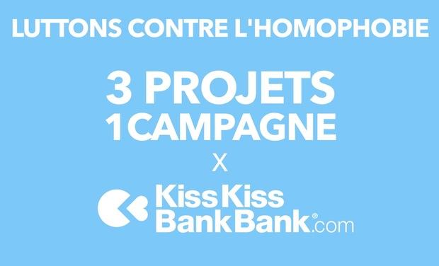 Project visual Luttons contre l'homophobie : 3 projets, 1 campagne !