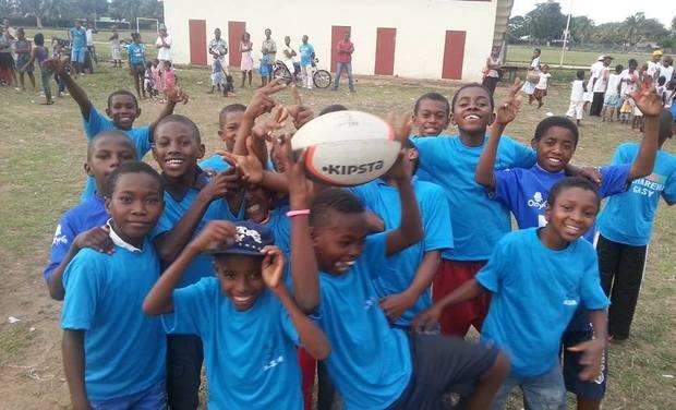 Visuel du projet Jouons au rugby à Madagascar