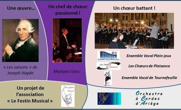 """Visueel van project Concert Exceptionnel """"Les Saisons"""" d'Haydn"""