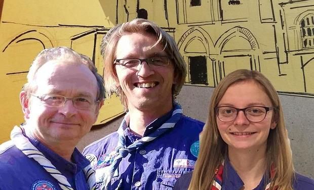 Visuel du projet 3 Scouts et Guides du Finistère à Jérusalem