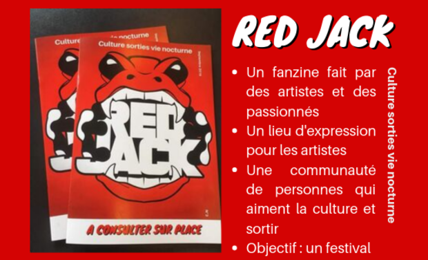 Visueel van project Red Jack - le magazine des passionnés de culture et de sorties à Beauvais
