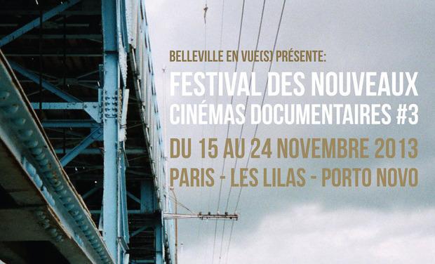 Project visual Festival des Nouveaux Cinémas Documentaires