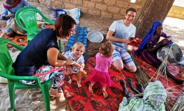 Visueel van project Mama Akua - Un commerce équitable en ligne!