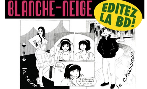 Project visual Blanche-Neige BD