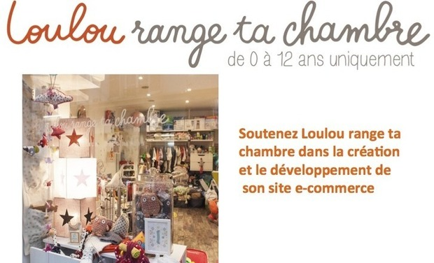 Project visual Loulou range ta chambre - site ecommerce