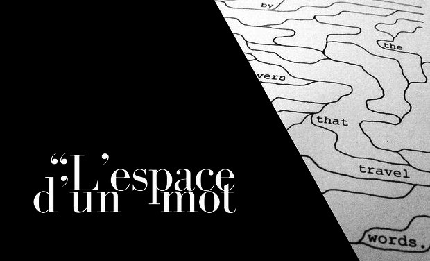 Project visual L'espace d'un mot