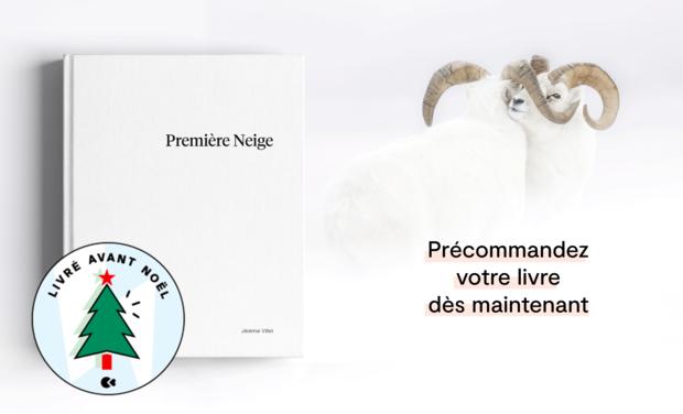 Project visual «Première Neige», the First Photo Book by Jérémie Villet