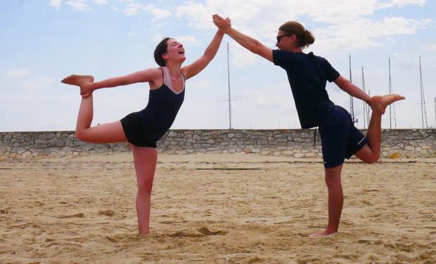 Visuel du projet Yogikigai, voyage initiatique et formateur pour transmettre l'art du yoga