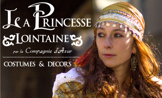 """Visuel du projet """"La Princesse Lointaine"""" par la Compagnie d'Azur - Costumes et décor"""