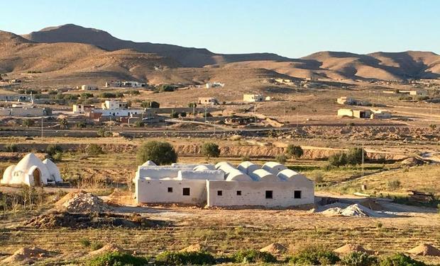 Visuel du projet Domaine Oued el Khil - Maison d'hôtes en eco-construction au sud de la Tunisie