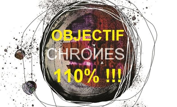 Visuel du projet Premier album de CHRONES