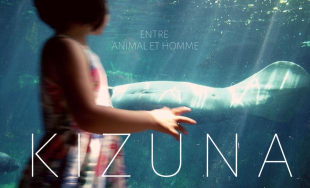 Visuel du projet K I Z U N A  entre animal & homme