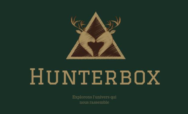 Visuel du projet Hunterbox, première box par abonnement pour les chasseurs