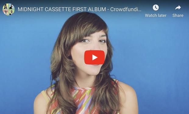 Visuel du projet Premier album de Midnight Cassette