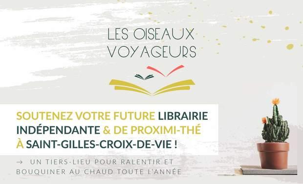 Visuel du projet Une librairie à Saint-Gilles-Croix-de-Vie
