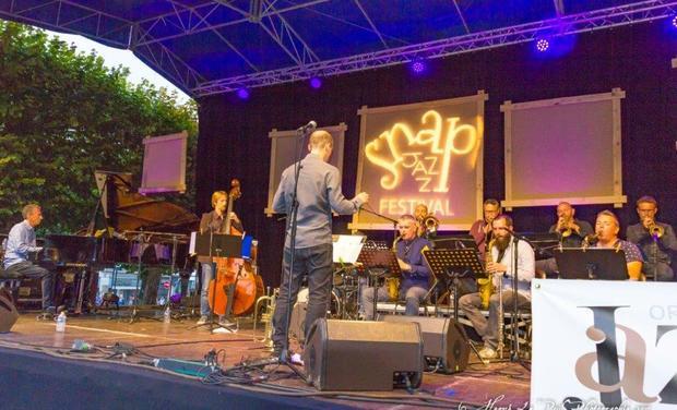 Visuel du projet Orchestre de Jazz de Bretagne - Nouvel EP