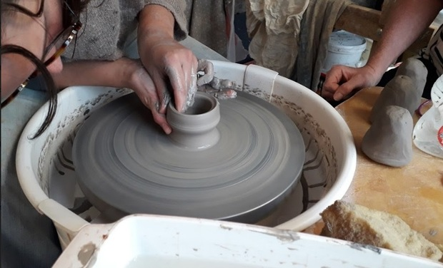 Visuel du projet Un atelier de céramique à la maison!