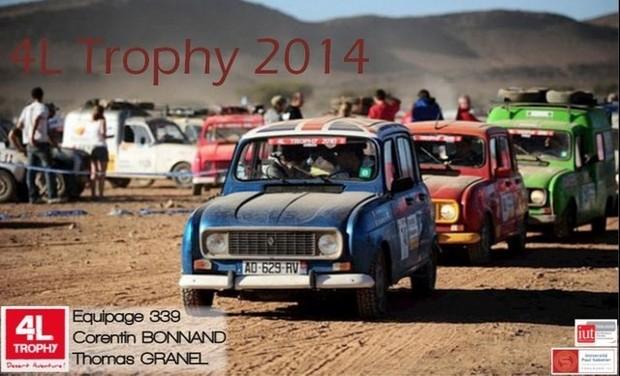 Visueel van project 4L Trophy 2014
