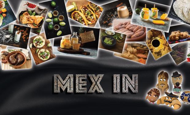 Visueel van project MEX IN - Le vrai Tacos, le véritable goût du Mexique