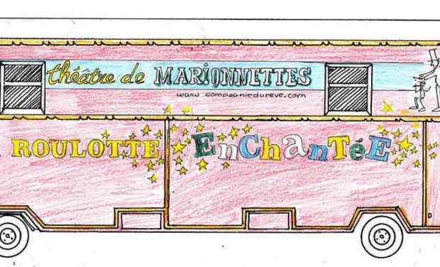 Visuel du projet La Roulotte Enchantée, roulotte théâtre