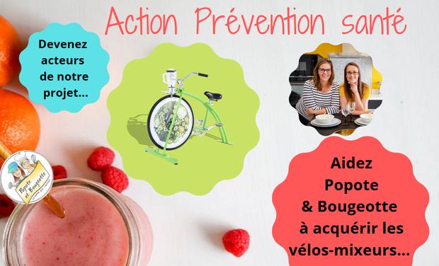 Visuel du projet Popote & Bougeotte à bicyclette pour un smoothie super chouette !