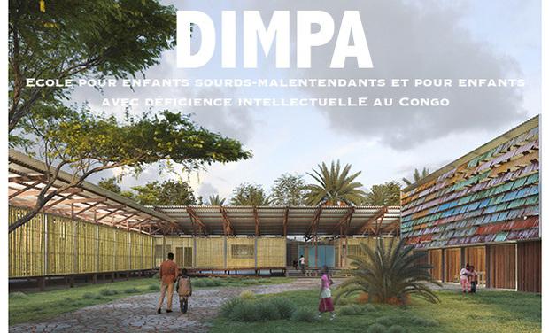 Visuel du projet Dimpa - école pour enfants sourds au Congo