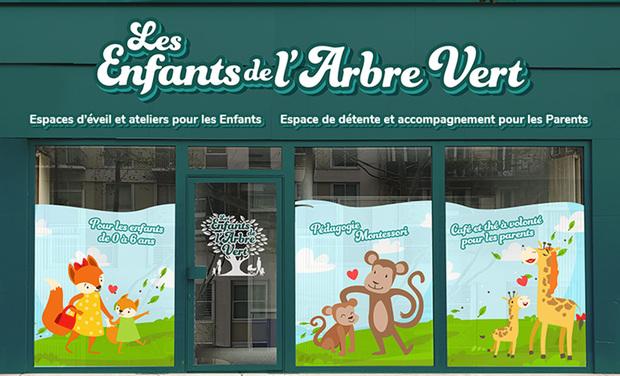 Project visual Un nouvel espace dédié aux familles à Paris