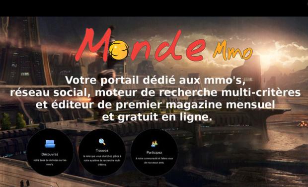 Visuel du projet Monde Mmo