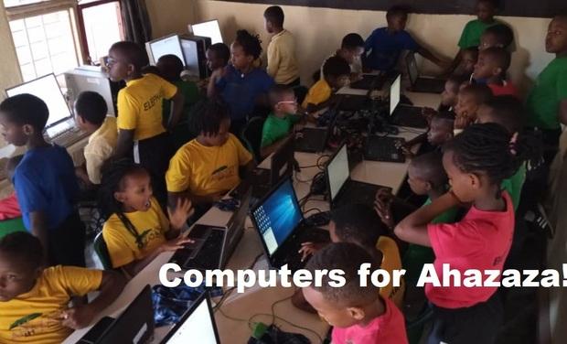 Visuel du projet Des ordinateurs pour Ahazaza!