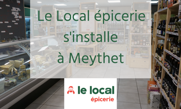 Project visual Un second magasin pour Le Local épicerie à Meythet